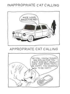 Literal Cat Calling is a Treat!