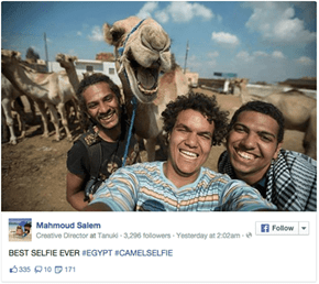 This Camel is All Smiles for This Amazing Selfie