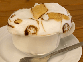 Latte Art Hits the 3rd Dimension