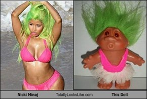 Nicki Minaj Totally Looks Like This Doll