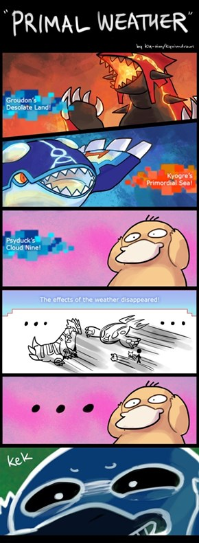 Fear the Psyduck!