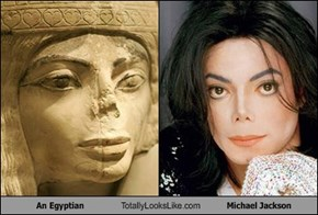 An Egyptian Totally Looks Like Michael Jackson