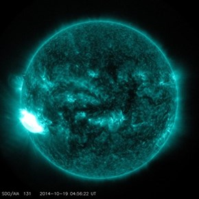 That's a Giant Solar Flare!