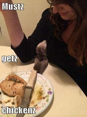 Mustz getz chickenz