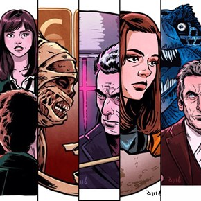 David Buisan's Awesome Illustrated Posters For Doctor Who Series 8