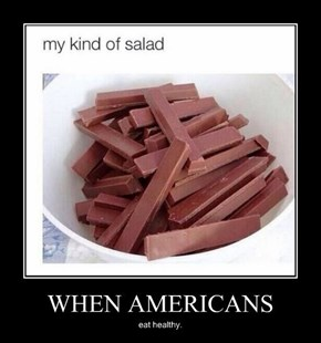 That Salad Has Some Crunch to It