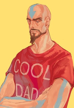 Tenzin is the Coolest Dad