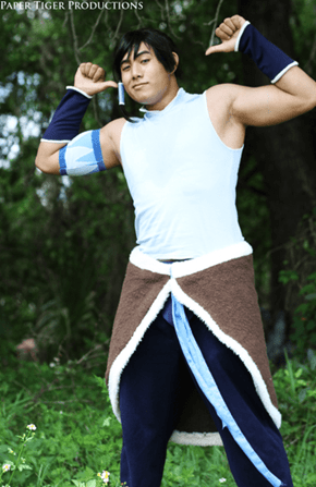 This Genderbent Korra Looks Like He's Ready for a Pro Bending Match
