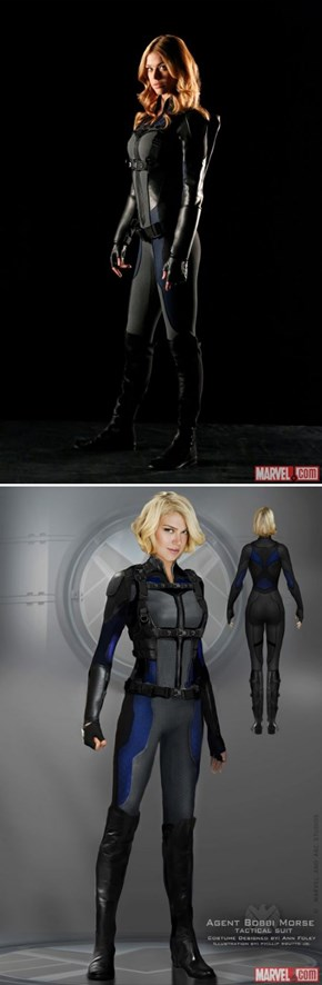 Marvel Releases First Look At Bobbi Morse's Mockingbird Tactical Suit from Agents of SHIELD