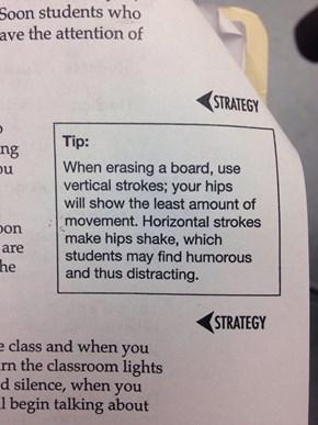 A Tip for the Teachers
