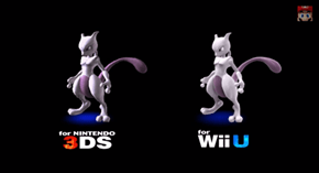 Mewtwo Confirmed for Smash Bros!