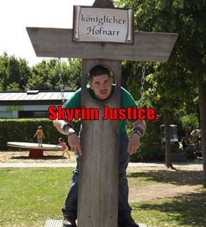 Skyrim Justice.