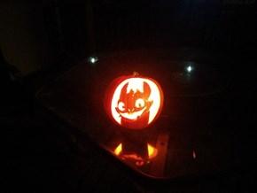 Toothless Jack-o-Lantern