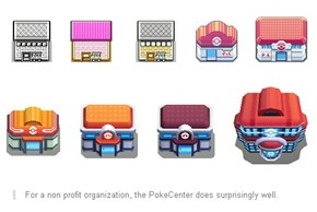 PokéCenters Throughout the Years