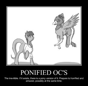 PONIFIED OC'S