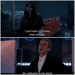 Doctor Who Pro-Tip: You Can't