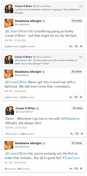 Madeleine Albright Delivers the Twitter Burn of the Year