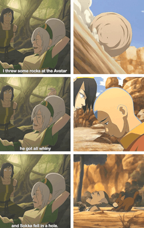 Tell Us About How You Taught Aang Earthbending