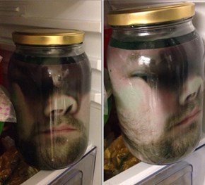 Print a Picture, Wrap it Inside a Jar, Instant Prank!
