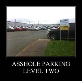 a**hole PARKING LEVEL TWO