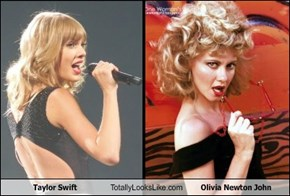 Taylor Swift Totally Looks Like Olivia Newton John