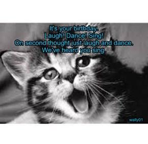 Happy Birthday, NCcharmer!