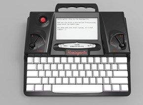 Shut Up and Take My Money of the Day: The Hemingwrite