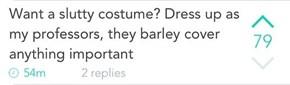 One Sexy Costume