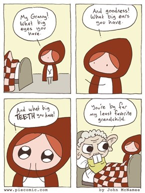 Little Red Riding Hood's Observational Humor