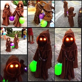 These Jawas are Ready to Trick or Treat in the Junkyard