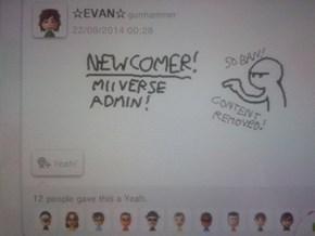 miiverse admin reports in!