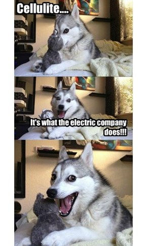 It's what the electric company does!!!