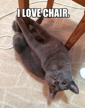 I LOVE CHAIR.