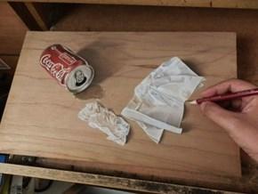 Ivan Hoo Makes These Lifelike Drawings on Wood