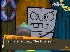 Bubble Buddy is Spongebob's Persona