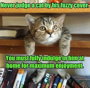 Library catbook.