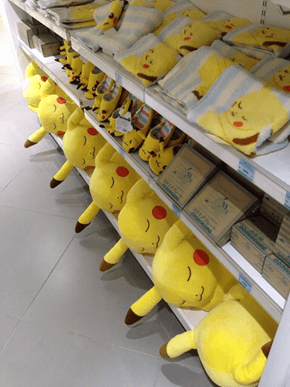 Sleeping Pikachu Are the Cutest