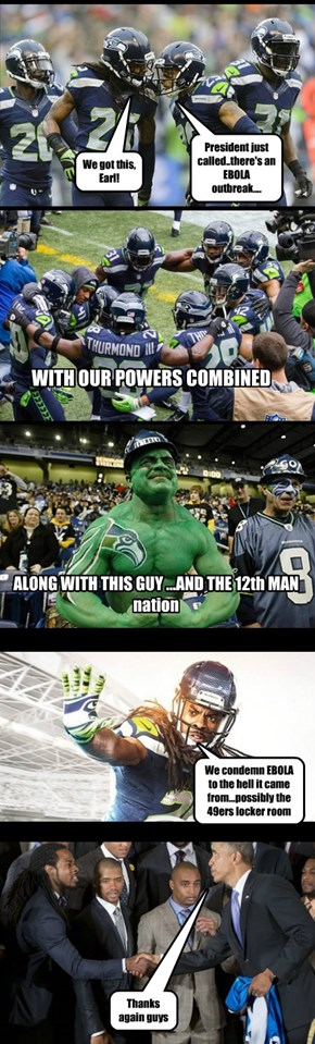 Legion of Boom Saves the World