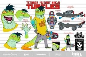 IDW TMNT - Mondo Gecko