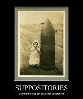 SUPPOSITORIES