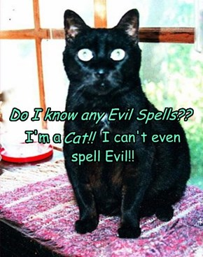 Do I know any Evil Spells??