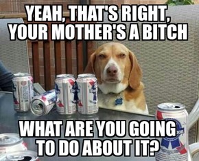 Some Dogs Are Honest Drunks