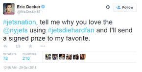 New York Jets Player Eric Decker Asks Fans Why They Love the Jets, Things Get Hilariously Sad