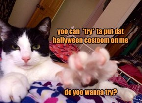 """Maybe Your Costume Involves Some """"Cuts"""" and """"Scratches""""?"""