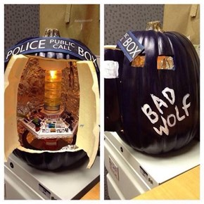 Pumpkin Carvings Cannot Possibly Get Any Geekier Than This