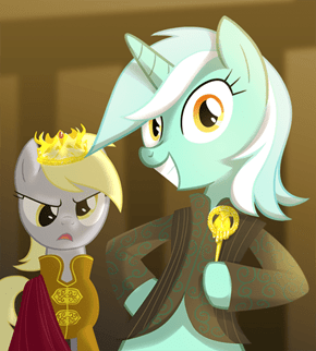 Pony Puns Classic: She's The 'Hand' of The King