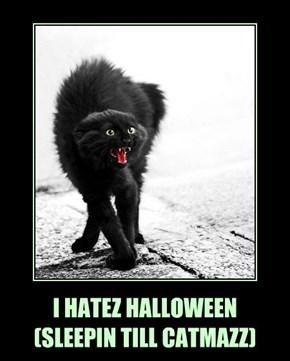 I HATEZ HALLOWEEN (SLEEPIN TILL CATMAZZ)