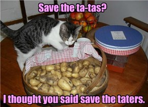 Save the ta-tas?