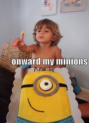 onward my minions