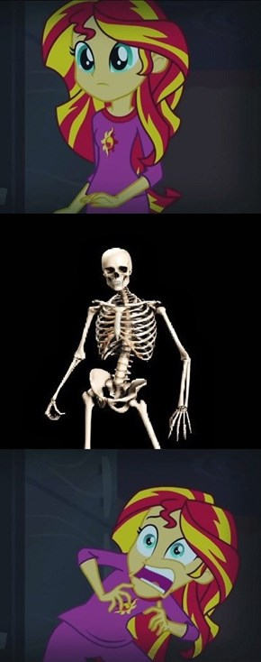 Spoopy Skeleton is Spoopy